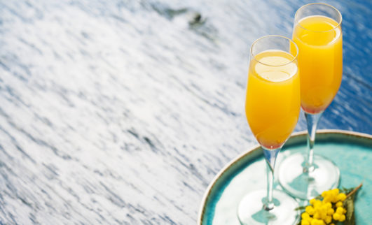 One Dollar Mimosas for Sippin Sunday
